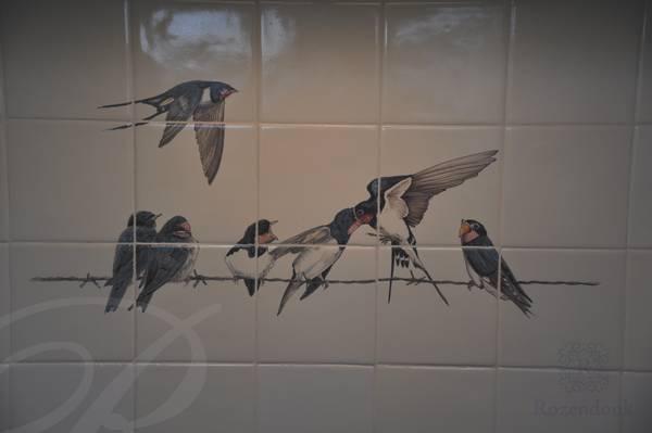 Überal Vögel