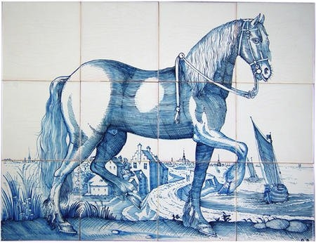 RF12-2, Friesen Pferd