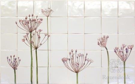 Schwäne Blumen, Butomus umbellatus