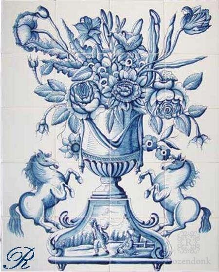 RF20-6, Vase mit Blumen