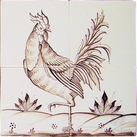 RF4-2, Hahn und Huhn