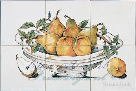 RH6-4 Schale mit Früchte