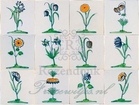 RM1-7 Collaert Blumen