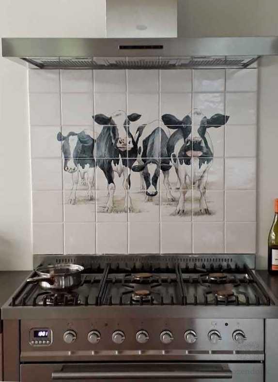 Kühe im Küche
