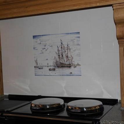 Schiff im Küche