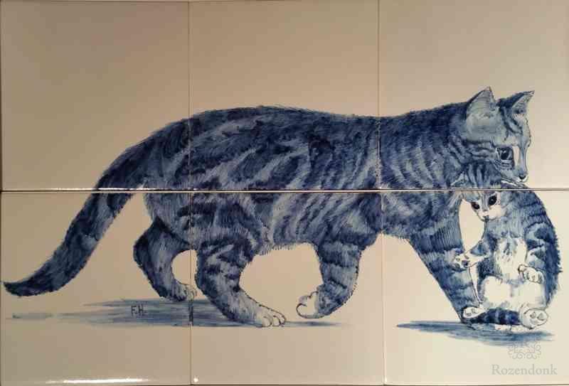 RH6 Katze mit Jüngling