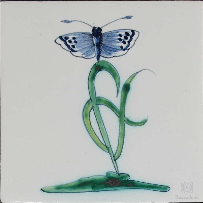 RM1-9 Collaert Blumen mit Insekten