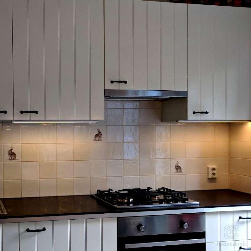 Kaninchen in der Küche