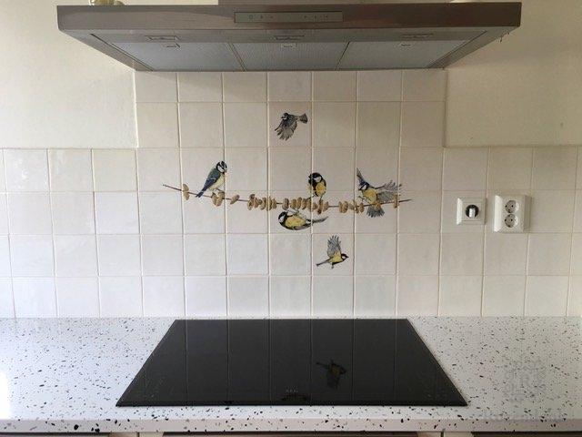 Mischung 4 mit Vögel