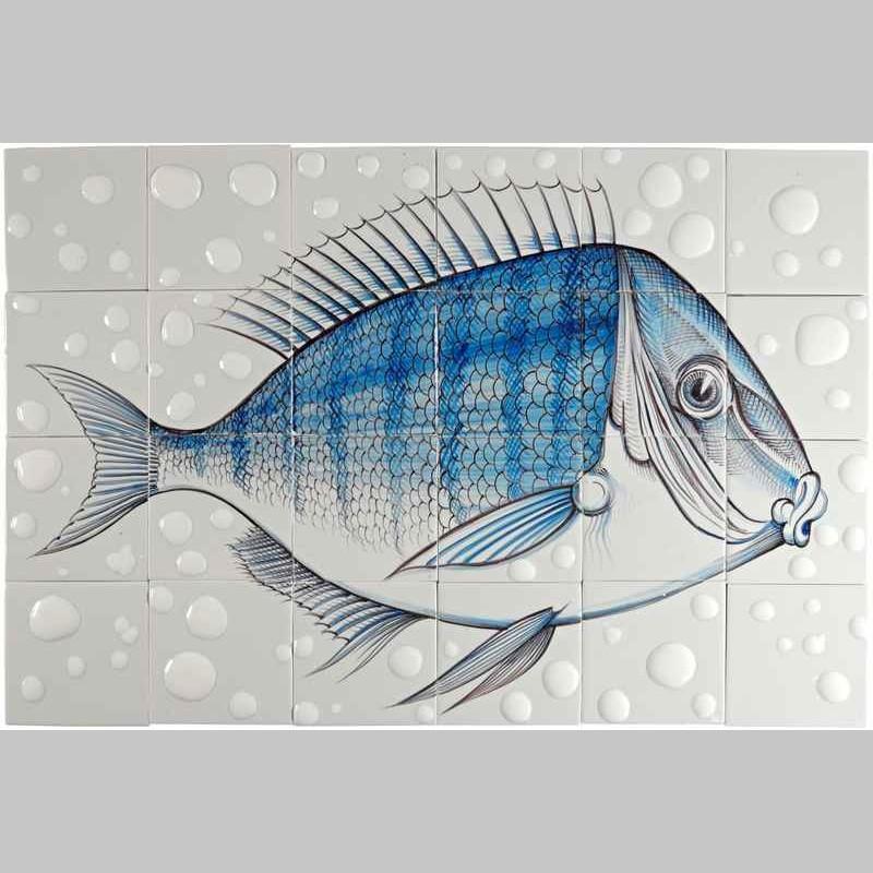 RH24-Fisk10 auf 24 Fliesen