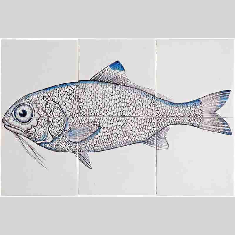 RH6- Fisk5 auf 6 Fliesen
