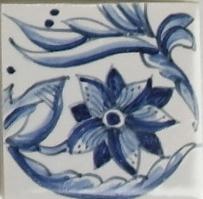 RF0-9, Bordüre mit Tulpe