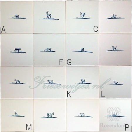 RF1-33, 24 Tier Skizzen