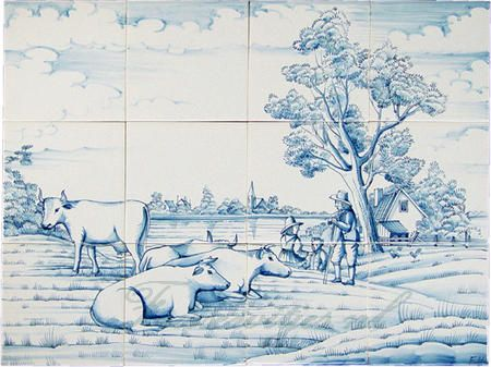 Landschaft vom Bauernhof
