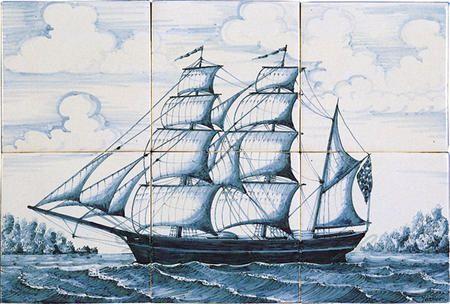 RF6-26 Dreimaster ca. 1850