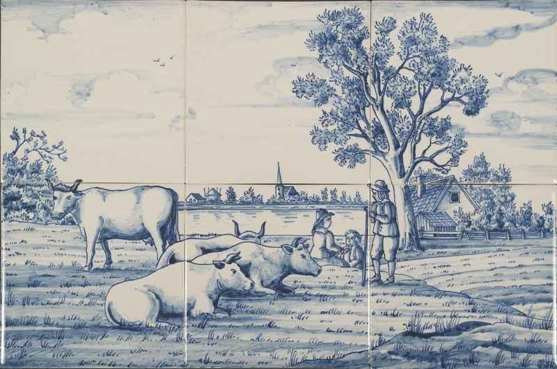 RF6-7, Landschaft vom Bauernhof