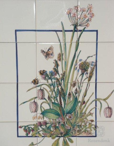 RH12-1 Schwäne Blumen, Butomus umbellatus