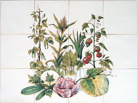 RH12-4k Pflanzen mit Früchte und Gemüse