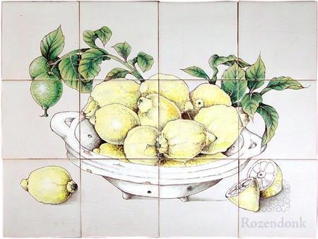 RH12-7, Schale mit Zitronen