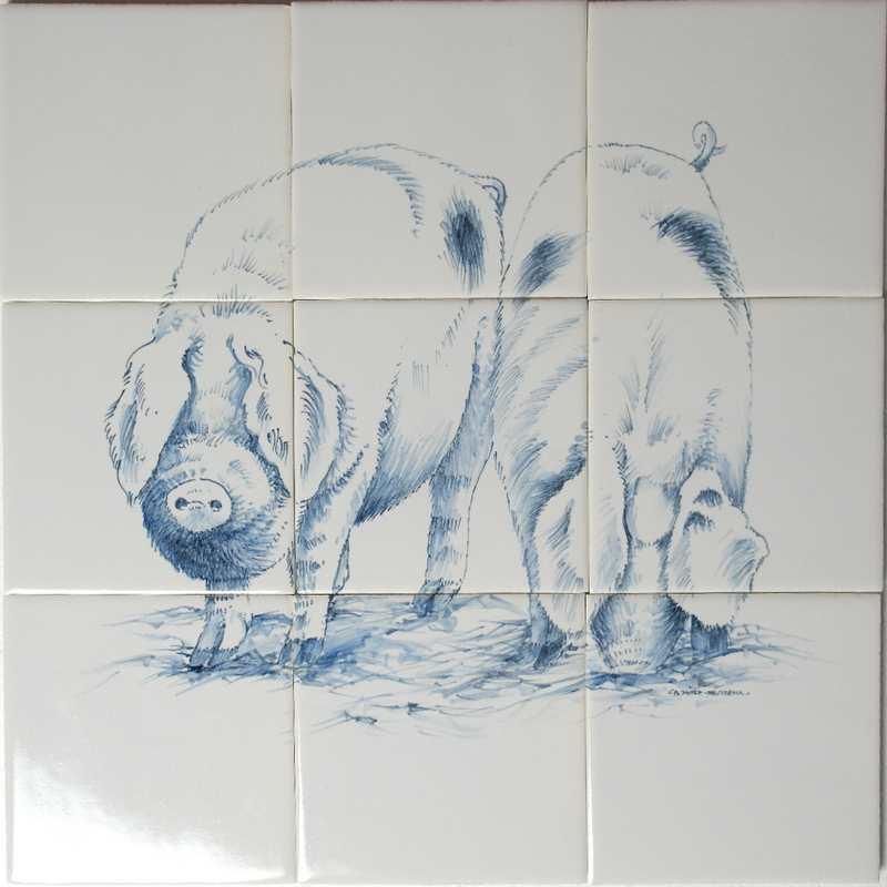 RH4-13 Freilauf Schweine