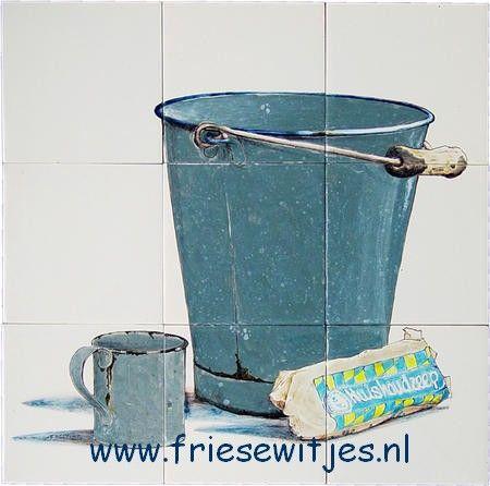 RH9-20 Eimer und soap