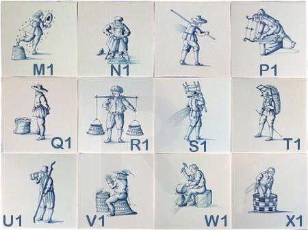 RM1-21 Alte Berufe A1 bis X1