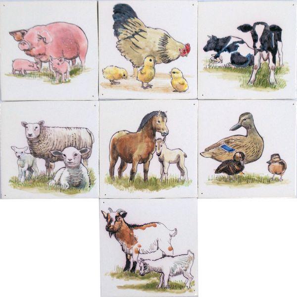 RH1-45 Tiere mit Jungen
