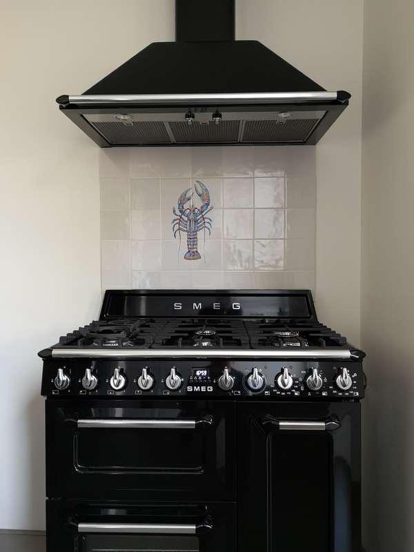 Lachs im Küchen