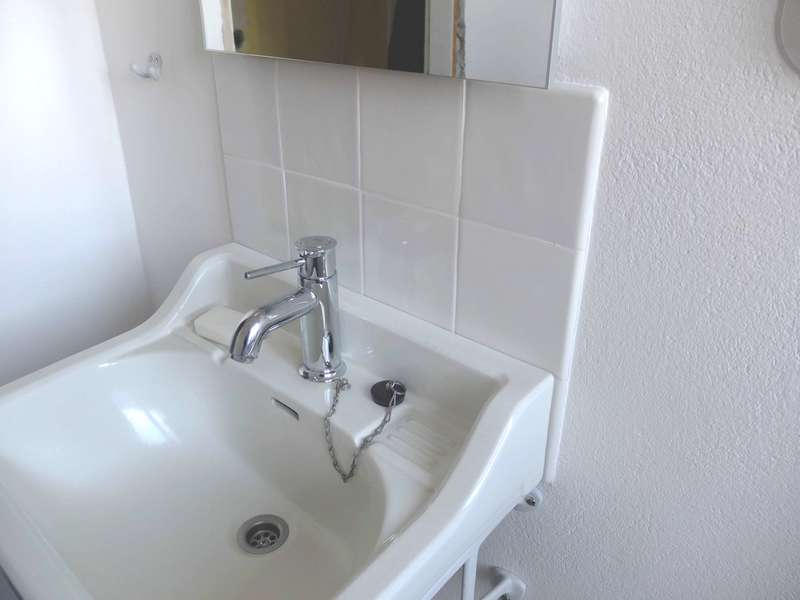 Badezimmer mit Mischung