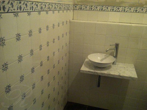 Halle und Toilette