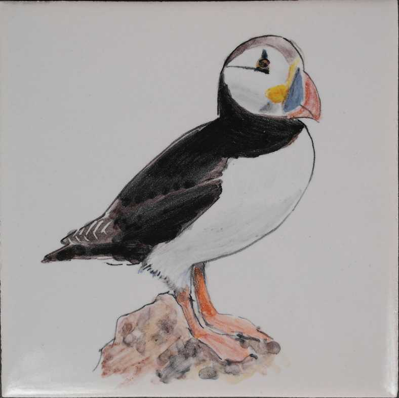 Vogel auf bestellung gemalt