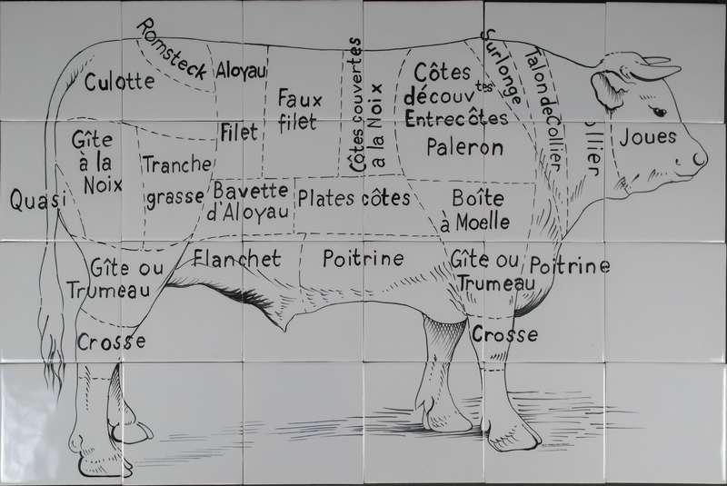 Französisches Rindfleis