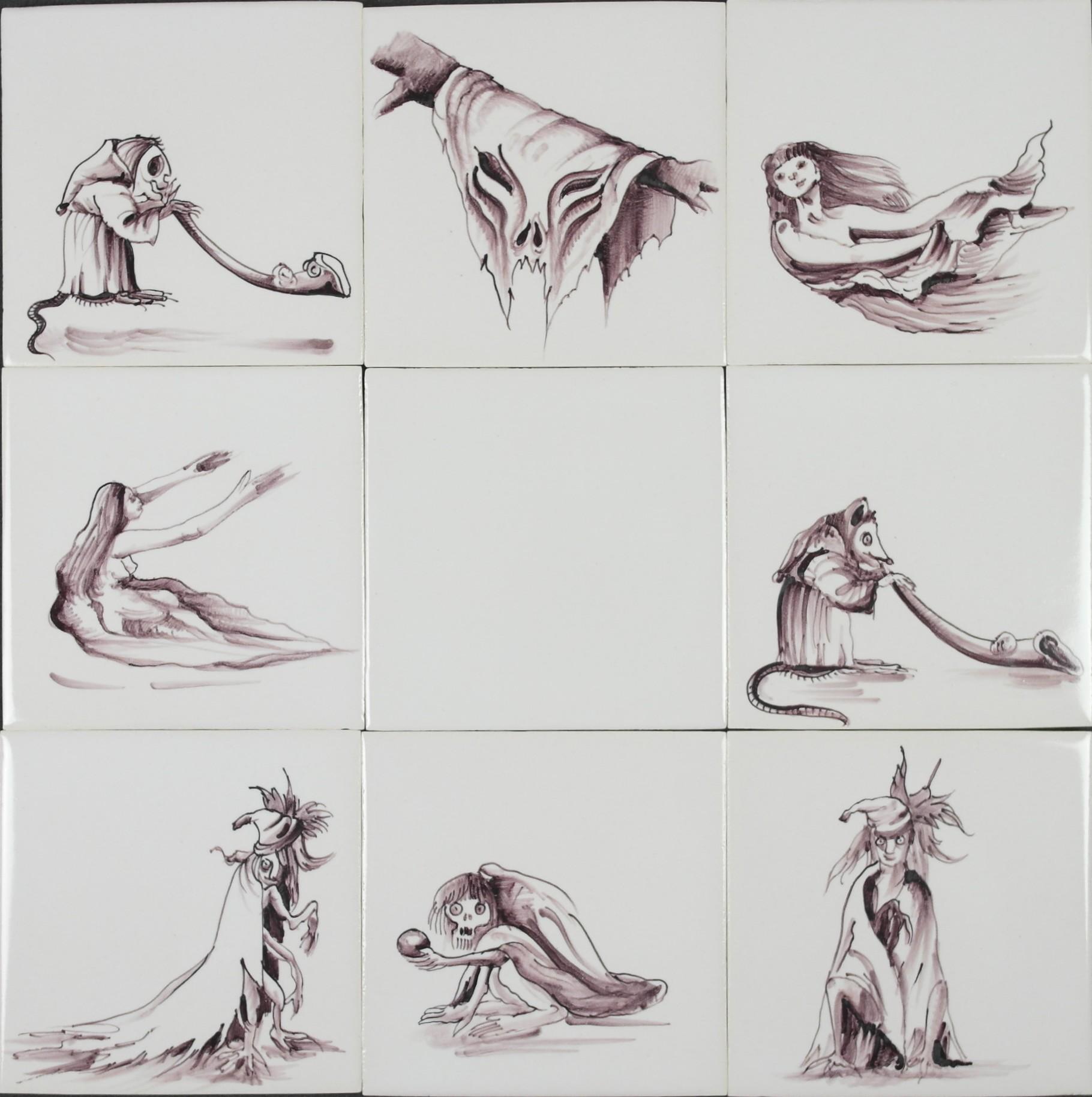 RH1-50 Horror Figuren