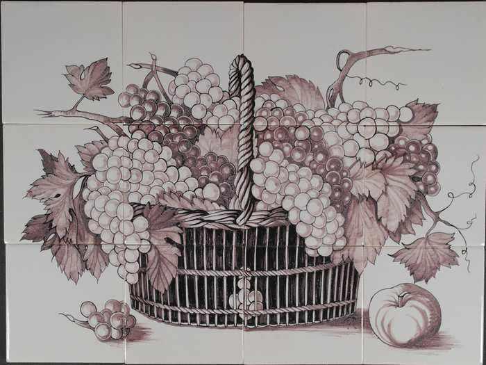 RH12-15m, Korb mit Blumen