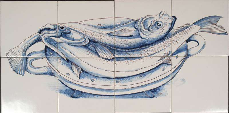 RH8 Schale mit 2 Fischen