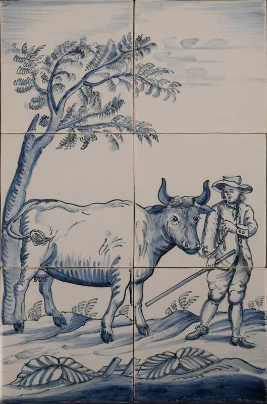 RH6-10, Bauer mit Kuh