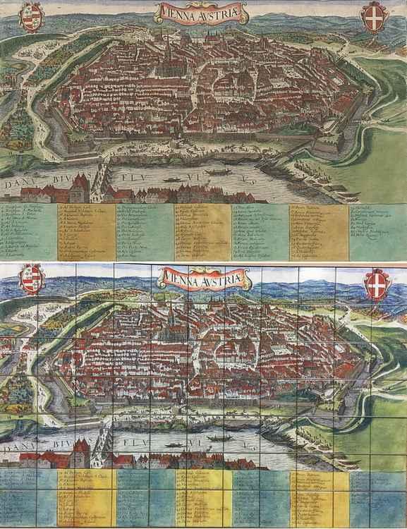Stadtplan von Wien