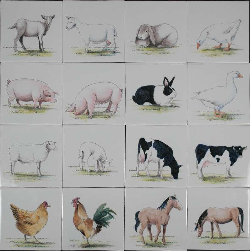 RH1-5 Bauernhof Tiere