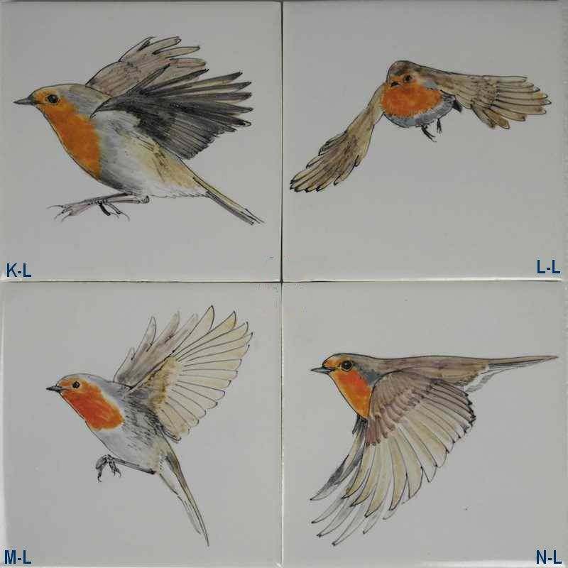 RH1-38v Fliegende Gartenvogel