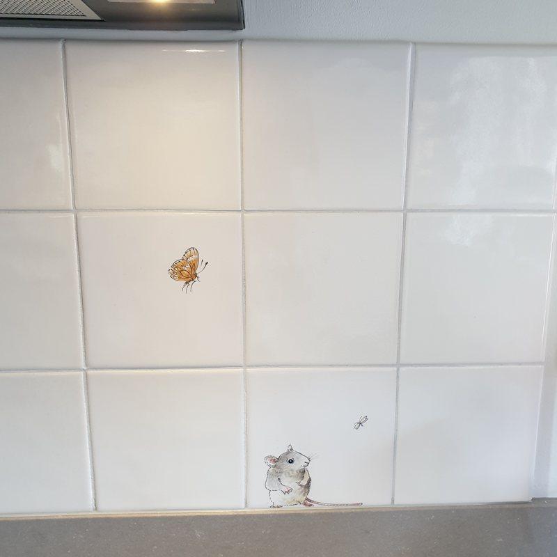 Mause im Küche