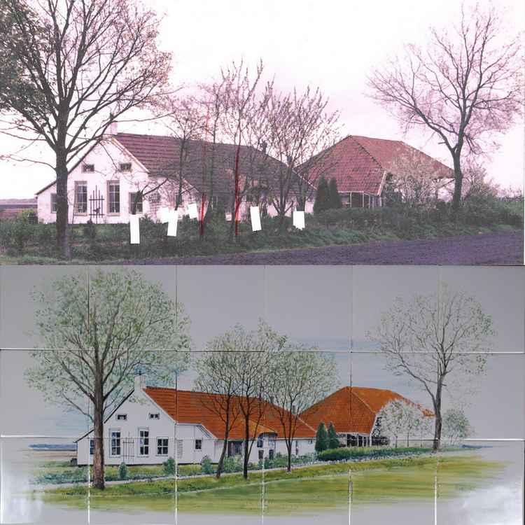 Bauernhof im Holland
